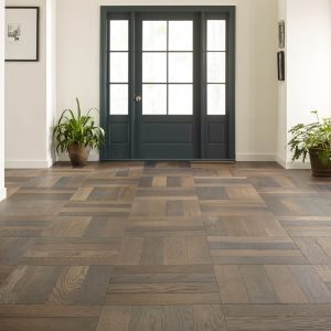 Old World Herringbone Hardwood flooring | Flooring By Design