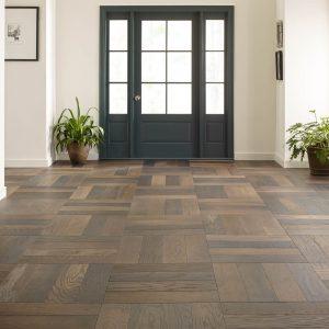 Old World Herringbone Hardwood flooring | Flooring By Design
