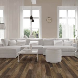 Vinyl flooring in living room | Flooring By Design