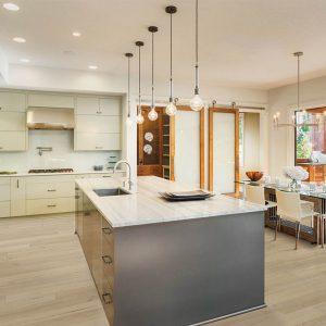 Kitchen with Vinyl flooring | Flooring By Design