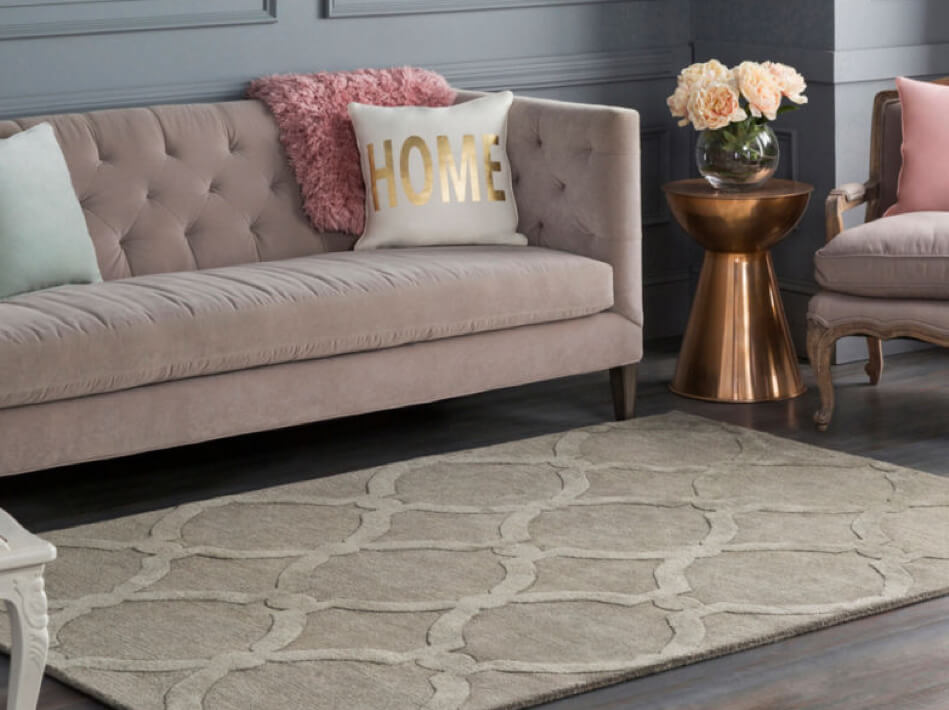Artisitic weaver area rug | Flooring By Design