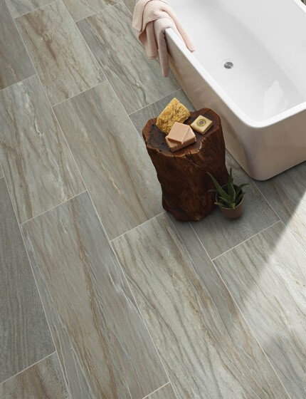 Tiles used in bathroom | Flooring By Design