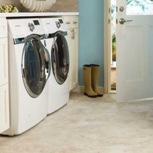 Tile laundry room | Flooring By Design