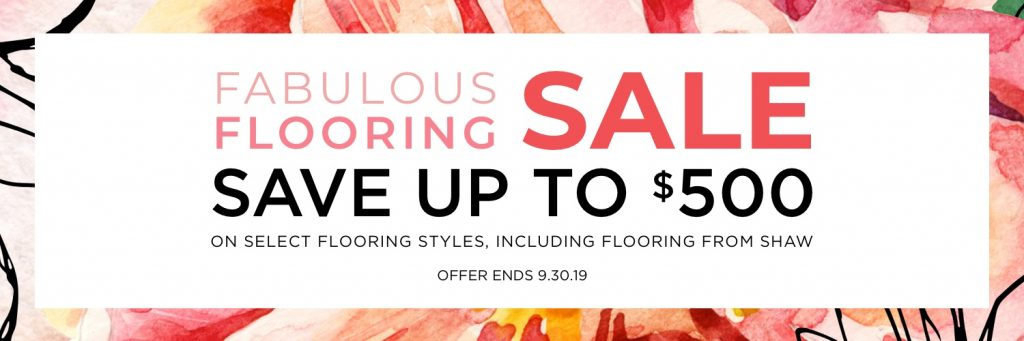 Fabulous flooring sale | Flooring By Design