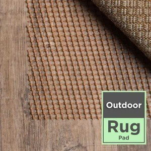 Rug pad outdoor oriental | Flooring By Design